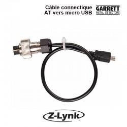Câble Garrett Z-lynk connectique AT