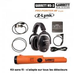 kit Garrett Casque MS-3 + Pro-pointer AT Z-Lynk