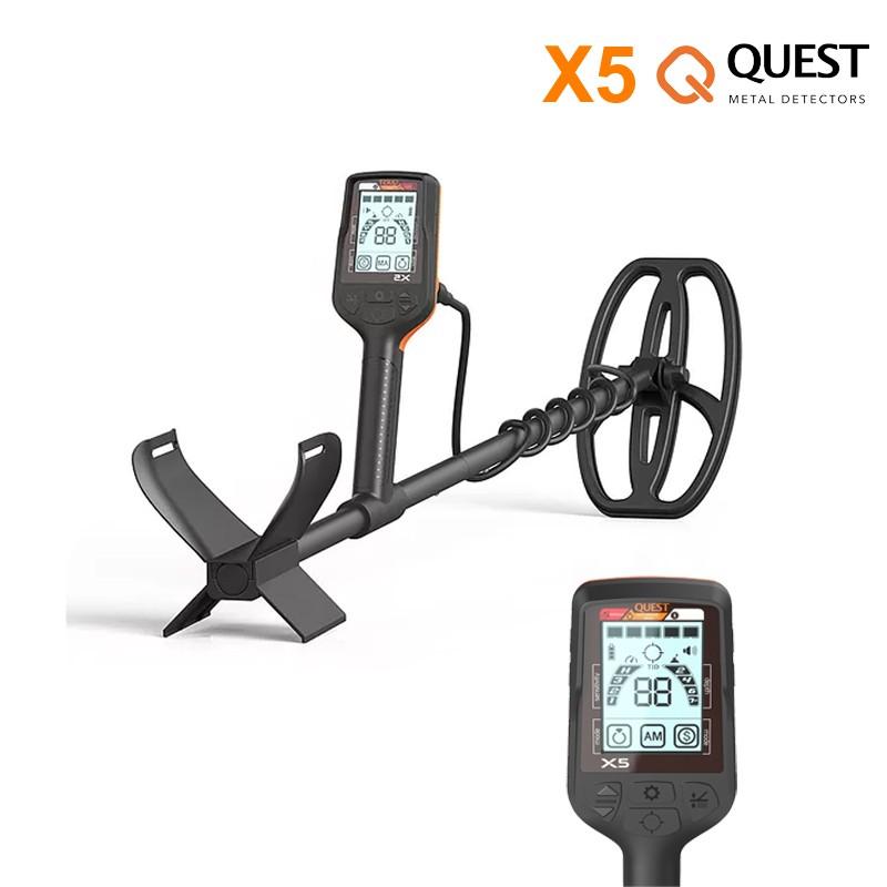 Détecteur de métaux Quest X5