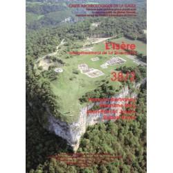 Carte archéologique de la Gaule 38/2. Isère