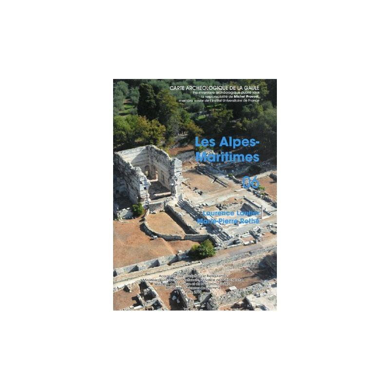 Carte archéologique de la Gaule 06. Les Alpes-Maritimes