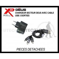 Chargeur secteur XP DEUS 3 sorties