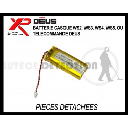 Batterie Casque XP WS2, WS3, WS4, WS5 ou télécommande Deus