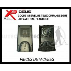Coque arrière télecommande Deus - Hp avec rail plastique