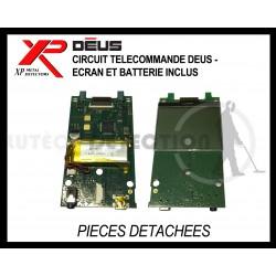 Circuit télécommande Deus - Ecran et batterie inclus