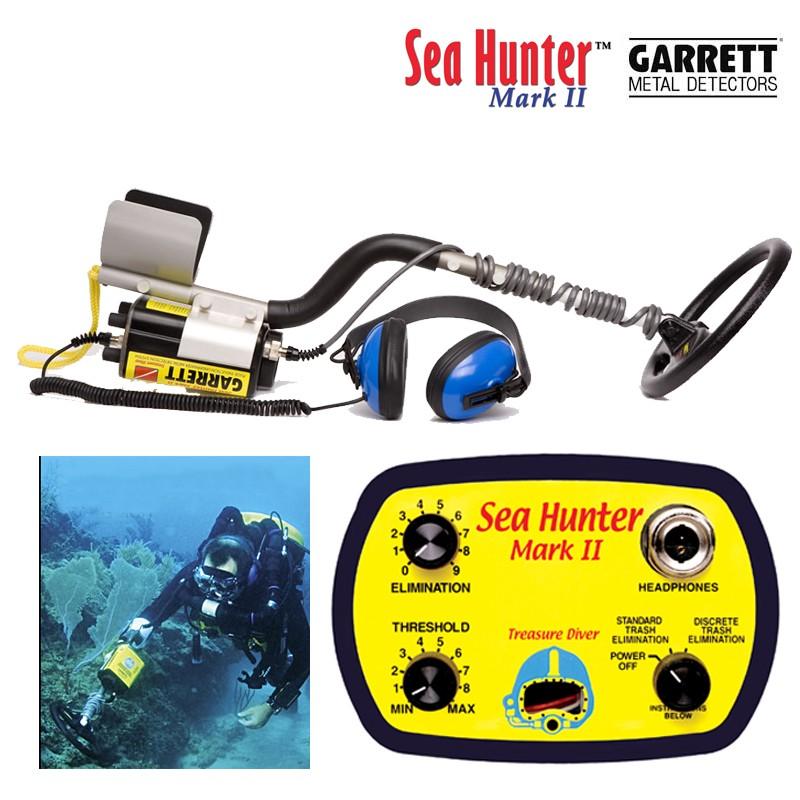 Détecteur de plongée Garrett Sea Hunter Mark II