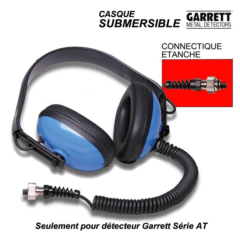 Casque submersible Garrett