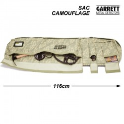 Housse de transport camouflage Garrett
