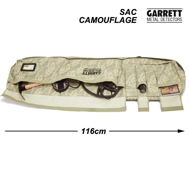 Housse de transport camouflage Garrett