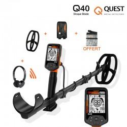 Détecteur de métaux Quest Q40