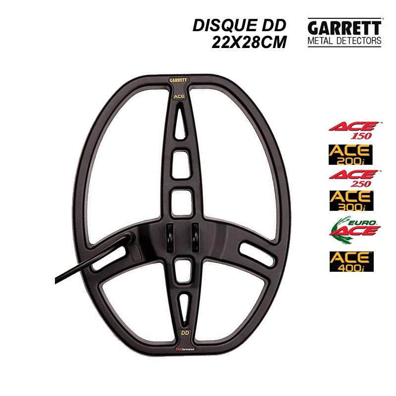 Disque Garrett 22x28cm DD pour série ACE