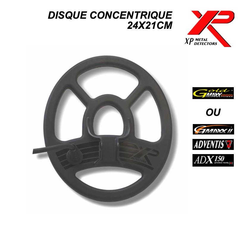 Disque XP concentrique 25x21cm