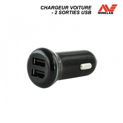 Chargeur voiture USB Minelab